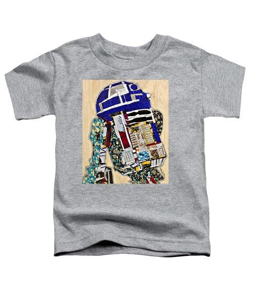 R2-d2 Star Wars Afrofuturist Collection Toddler T-Shirt