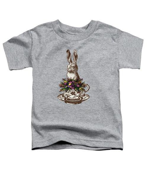 Rabbit In A Teacup Toddler T-Shirt
