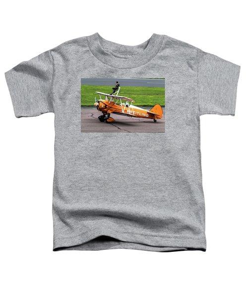 Raf Scampton 2017 - Breitling Wingwalkers At Rest Toddler T-Shirt
