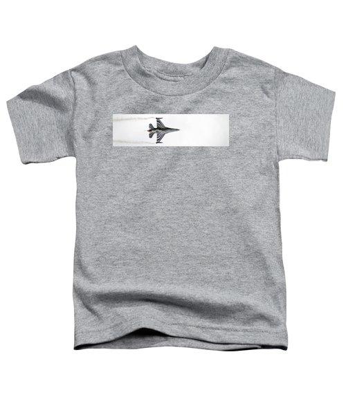 Raf Scampton 2017 - F-16 Fighting Falcon On White Toddler T-Shirt
