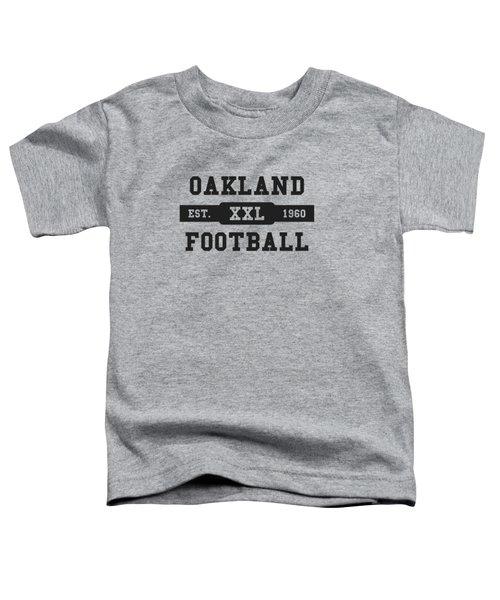 Raiders Retro Shirt Toddler T-Shirt