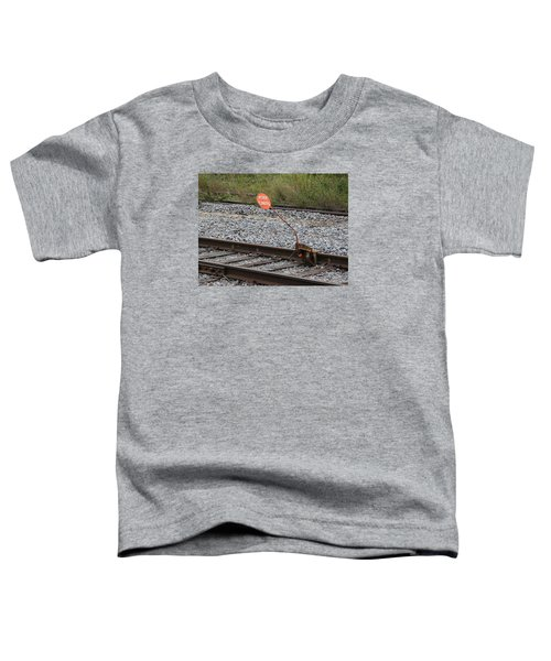 Railroad Work Limit Toddler T-Shirt