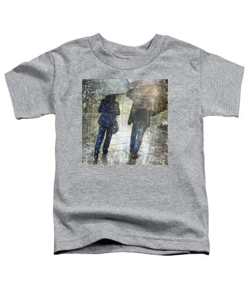 Rain Through The Fountain Toddler T-Shirt