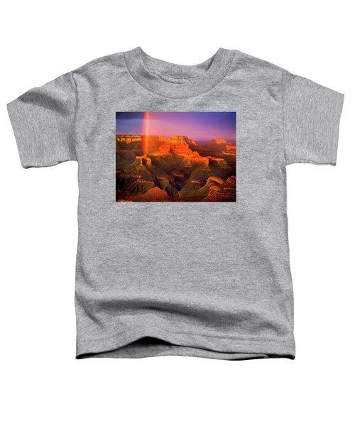 Rainbow At The Grand Canyon Toddler T-Shirt