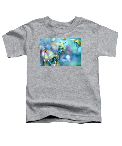 Rainbow Moss Drops Toddler T-Shirt