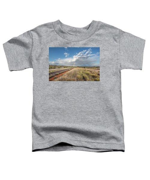 Rainbows Over Ghan Tracks Toddler T-Shirt
