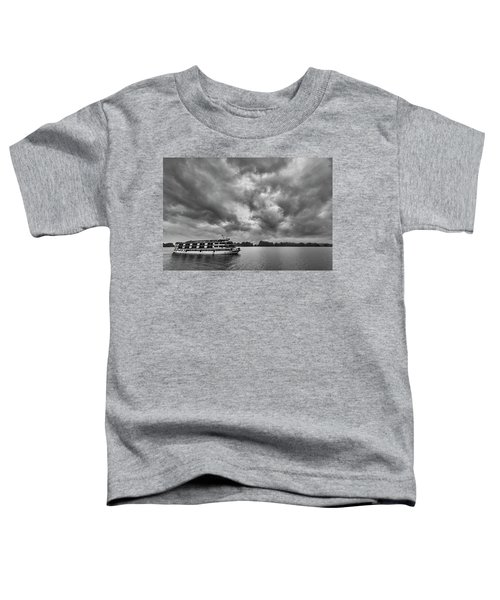 Toddler T-Shirt featuring the photograph Rainy Day Cruise by Hitendra SINKAR
