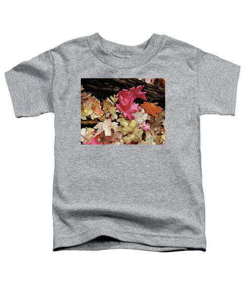 Rainy Day Leaves Toddler T-Shirt