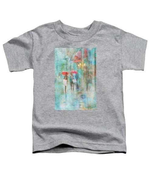 Rainy In Paris 4 Toddler T-Shirt
