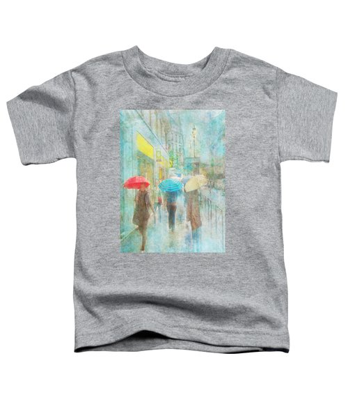 Rainy In Paris 5 Toddler T-Shirt