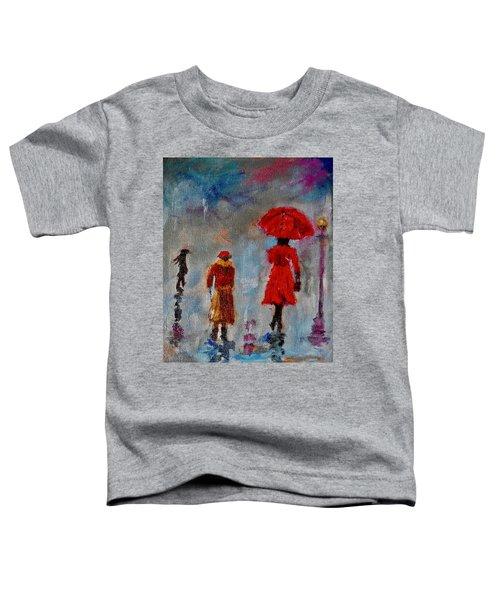 Rainy Spring Day Toddler T-Shirt
