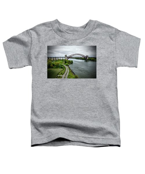 Randall's Island To Hellgate Toddler T-Shirt