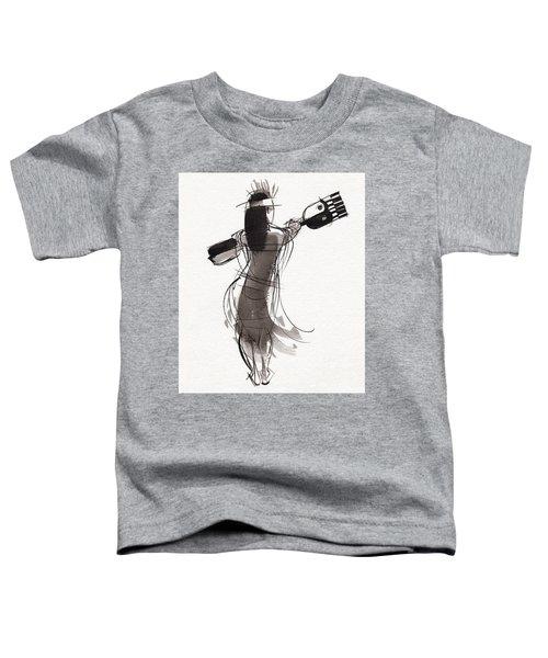 Rapa Nui Dancer Toddler T-Shirt