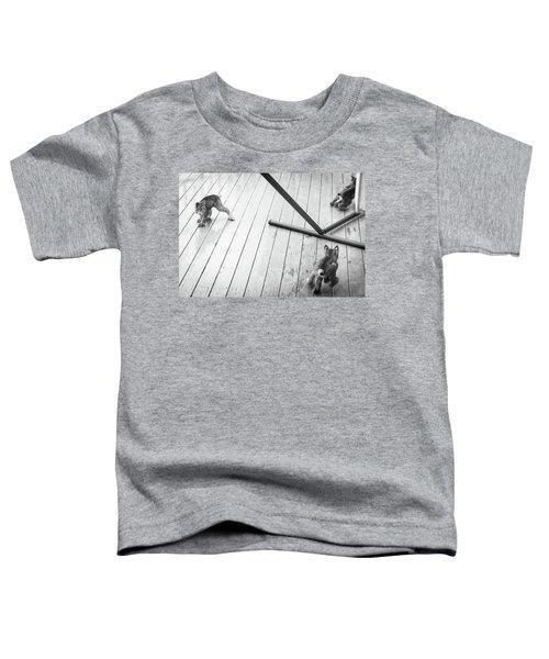 Triple Threat Toddler T-Shirt