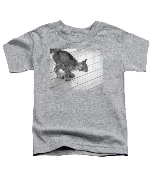 Crouching Kitty Toddler T-Shirt