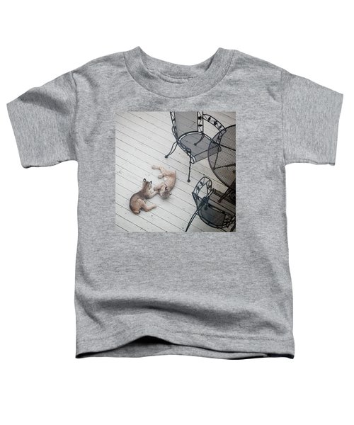 Wrestling Lynx Toddler T-Shirt