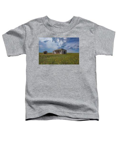 Rattlesnake Butte School, Eastern Plains Of Colorado Toddler T-Shirt