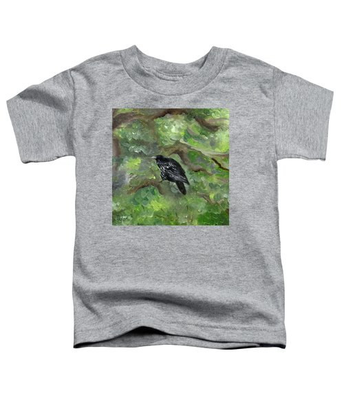 Raven In The Om Tree Toddler T-Shirt
