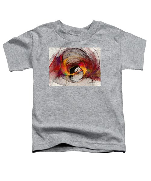 Reaction Abstract Art Toddler T-Shirt