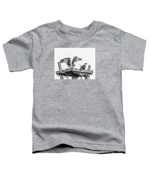 Ready To Fly Bw Toddler T-Shirt