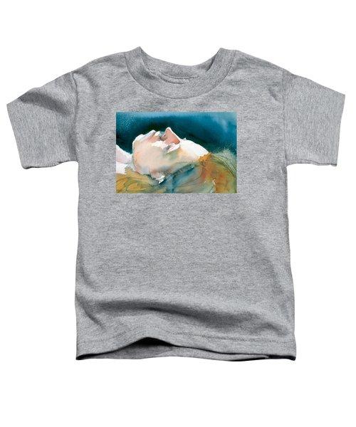 Reclining Head Study Toddler T-Shirt