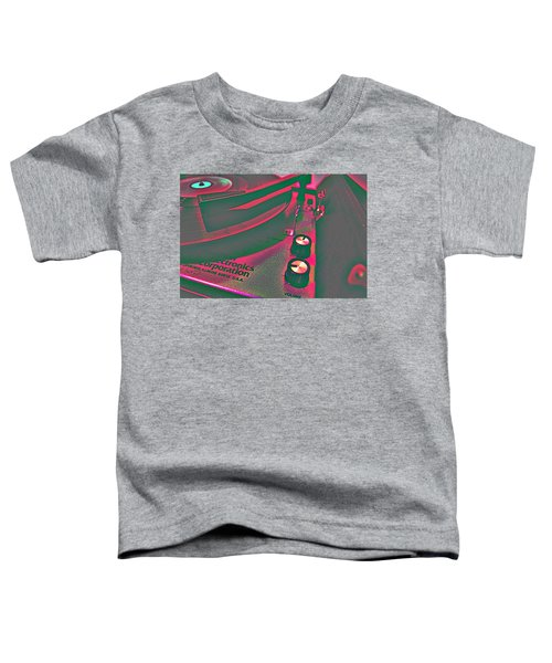 Record Player Toddler T-Shirt