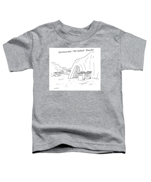 Recycling The Early Years Toddler T-Shirt