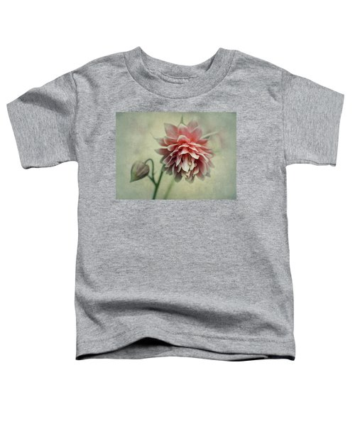 Toddler T-Shirt featuring the photograph Red And Pink Columbine by Jaroslaw Blaminsky