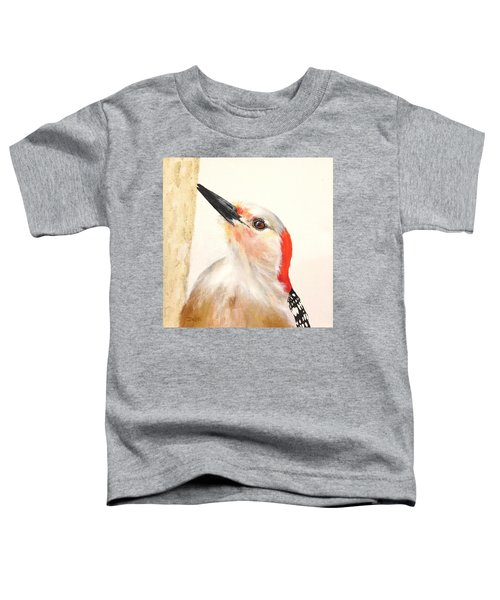 Red Breasted Woodpecker Toddler T-Shirt