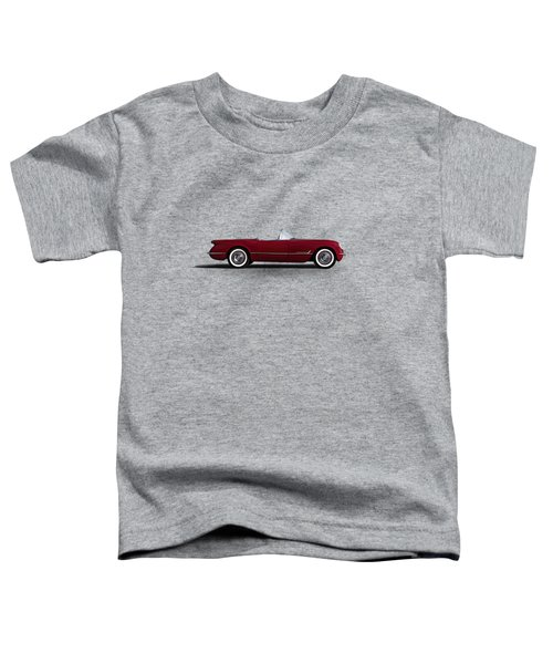 Red C1 Convertible Toddler T-Shirt