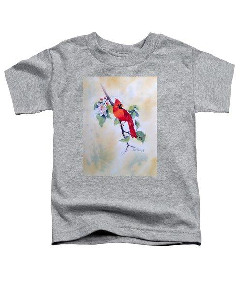 Red Cardinal  Toddler T-Shirt