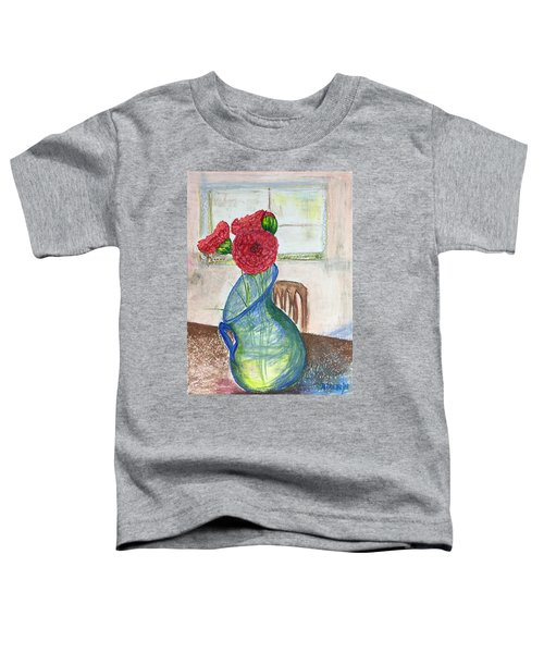Red Carnations Toddler T-Shirt