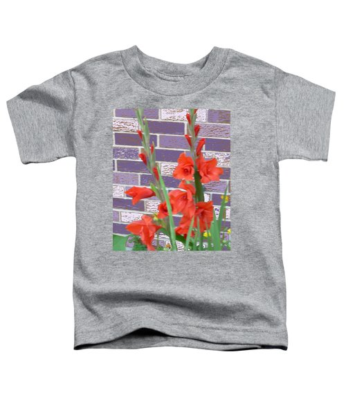 Red Gladiolas Toddler T-Shirt