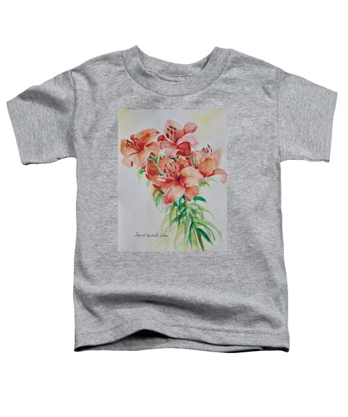 Red Lilies Toddler T-Shirt