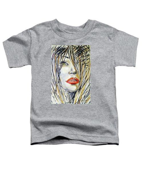 Red Lipstick 081208 Toddler T-Shirt