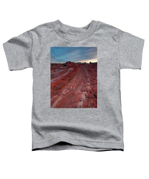 Red Ribbon Sunset Toddler T-Shirt