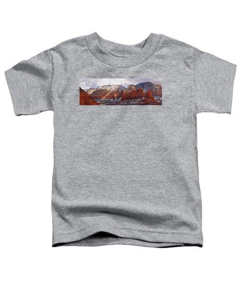 Red Rock Peaks Toddler T-Shirt