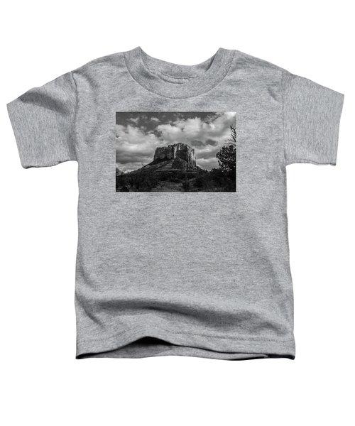 Red Rocks Sedona Bnw 1 Toddler T-Shirt by David Haskett