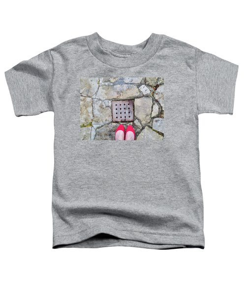 Red Shoes Toddler T-Shirt