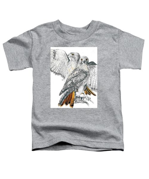 Red-tailed Hawk Toddler T-Shirt