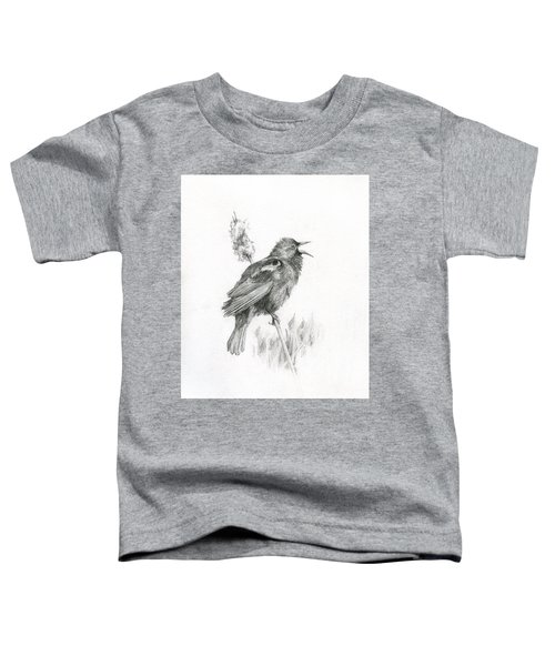 Red-winged Blackbird Toddler T-Shirt