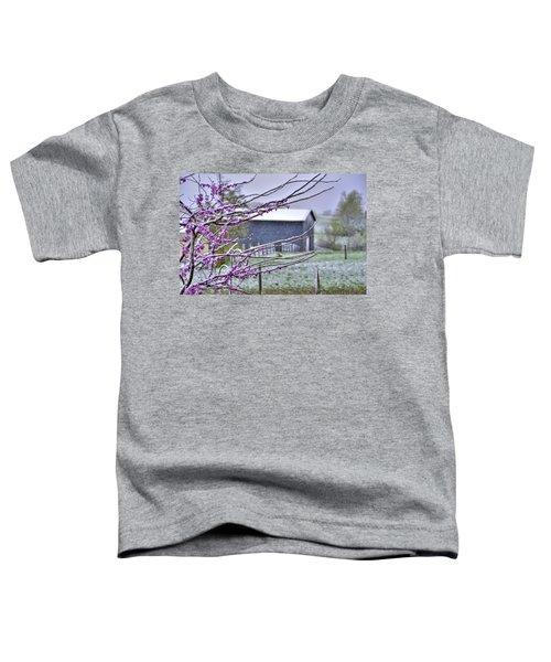 Redbud Winter Toddler T-Shirt