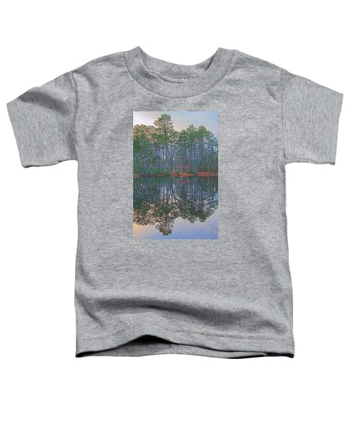 Reflections In The Pines Toddler T-Shirt