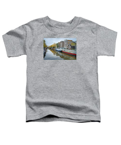 Reflections Of Amsterdam Toddler T-Shirt