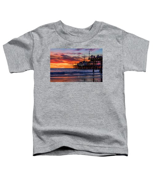 Reflections Of The Pier Toddler T-Shirt