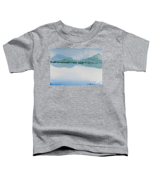 Reflections Of The Skies And Mountains Surrounding Bathurst Harbour Toddler T-Shirt