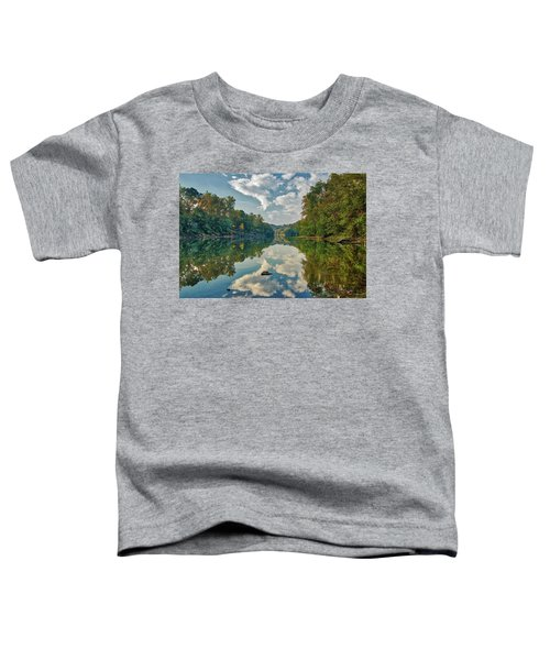 Reflections On The Meramec Toddler T-Shirt