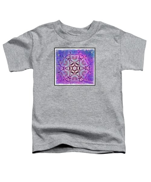 Reiki Infused Healing Hands Mandala Toddler T-Shirt