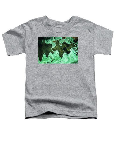 Relaxing Abstract Of Rays And Sharks Toddler T-Shirt