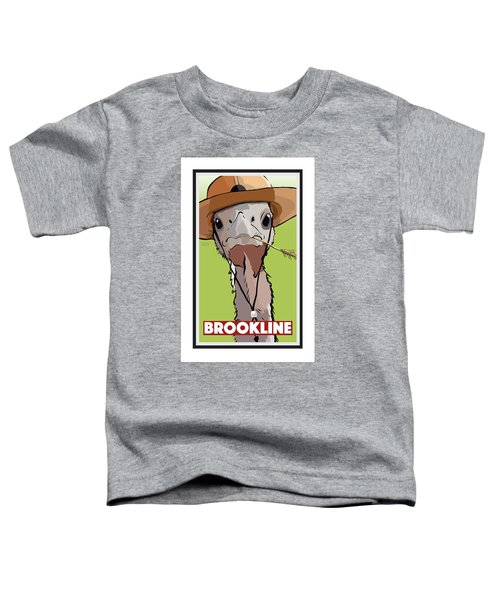 Relaxing In Brookline Toddler T-Shirt